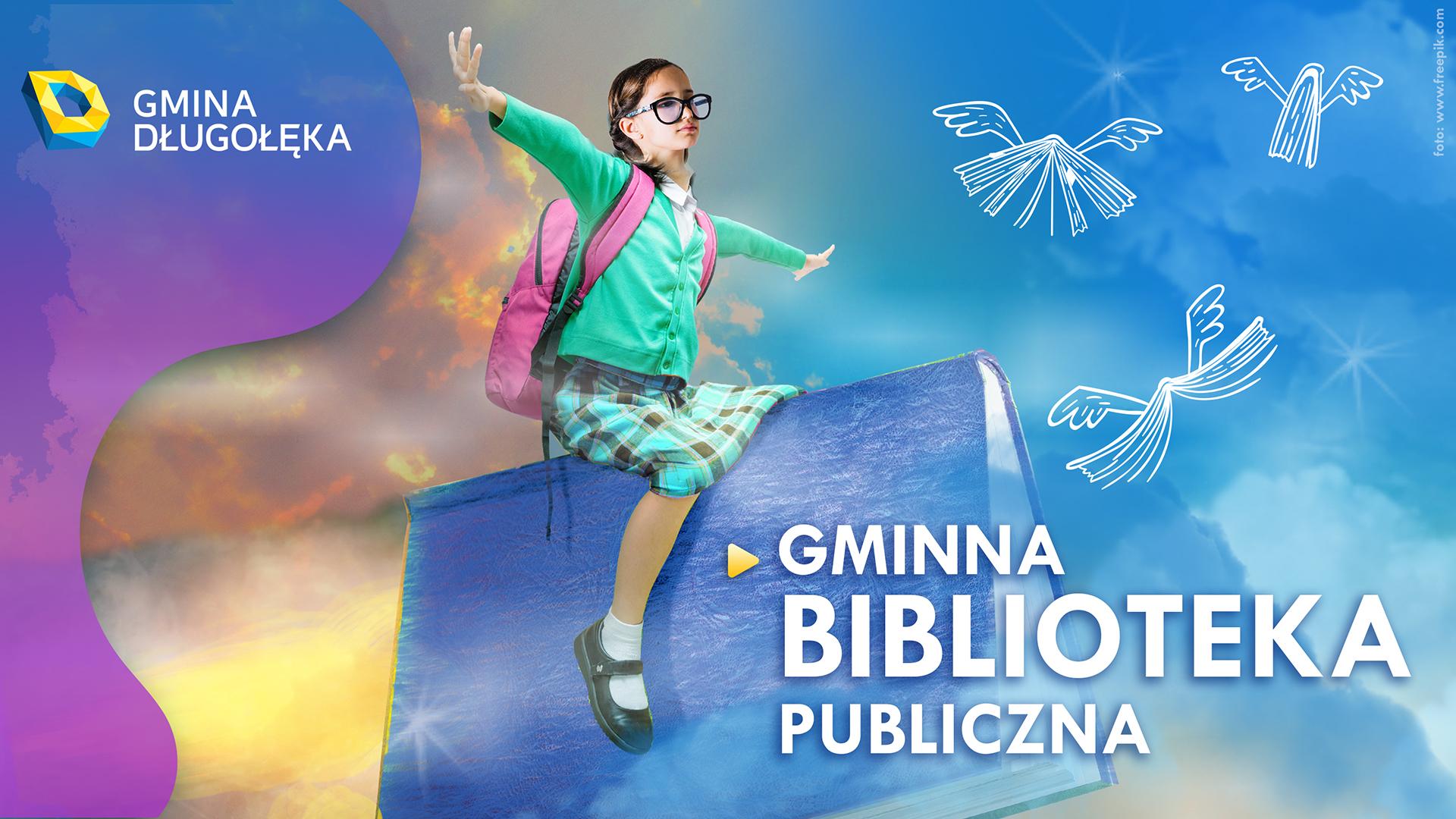 """Ogólnopolski Tydzień Bibliotek """"Znajdziesz mnie w bibliotece"""" – org. Gminna Biblioteka Publiczna w Długołęce"""