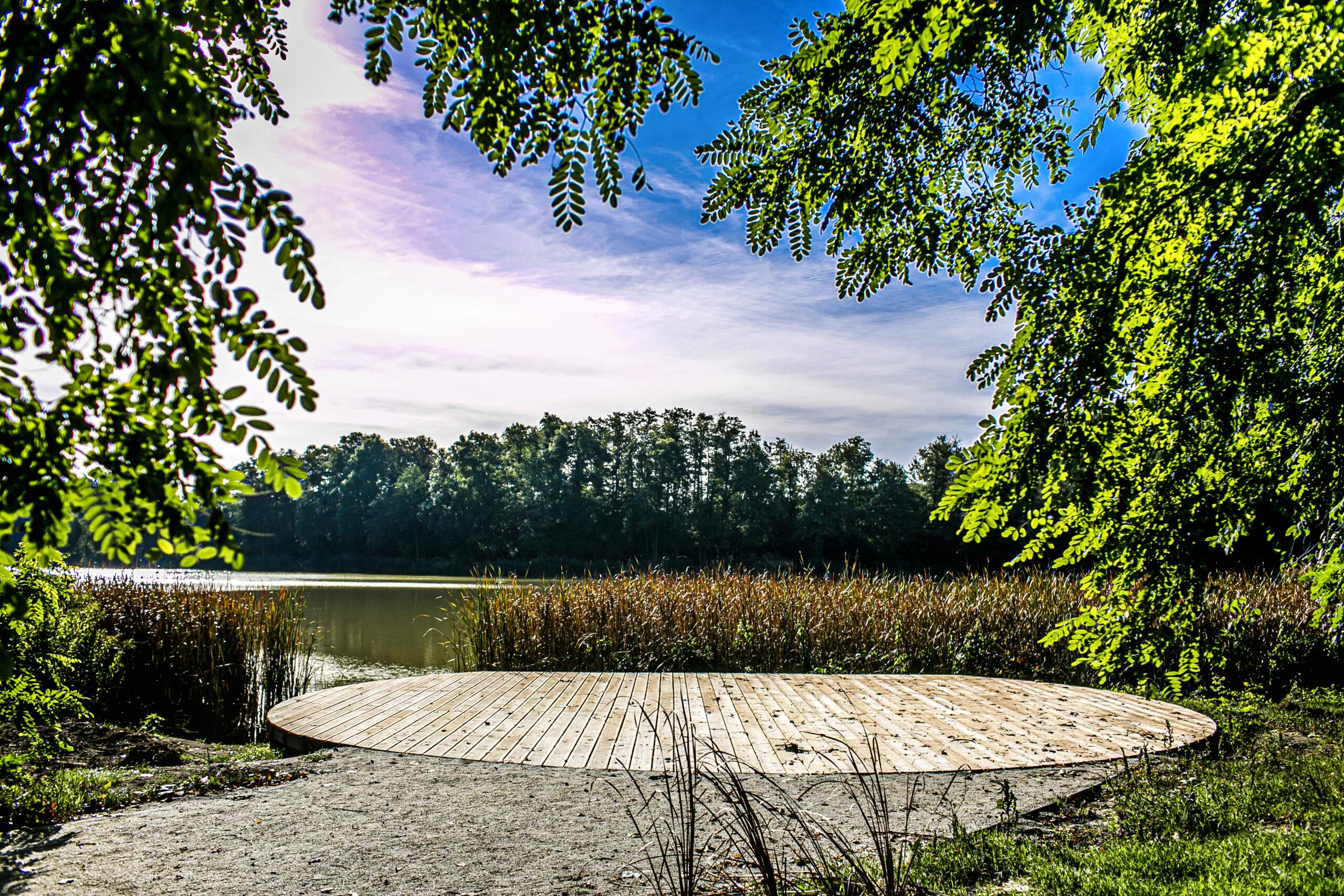 Park w Szczodrem po metamorfozie