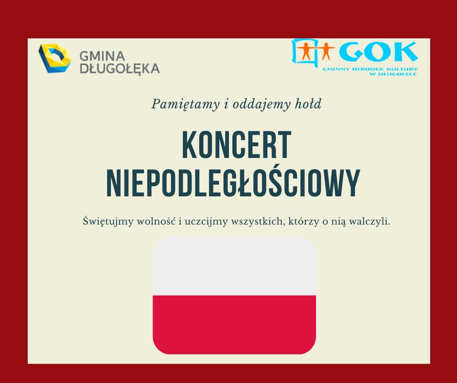 Koncert Niepodległościowy w kościele w Długołęce – org. Gminny Ośrodek Kultury w Długołęce