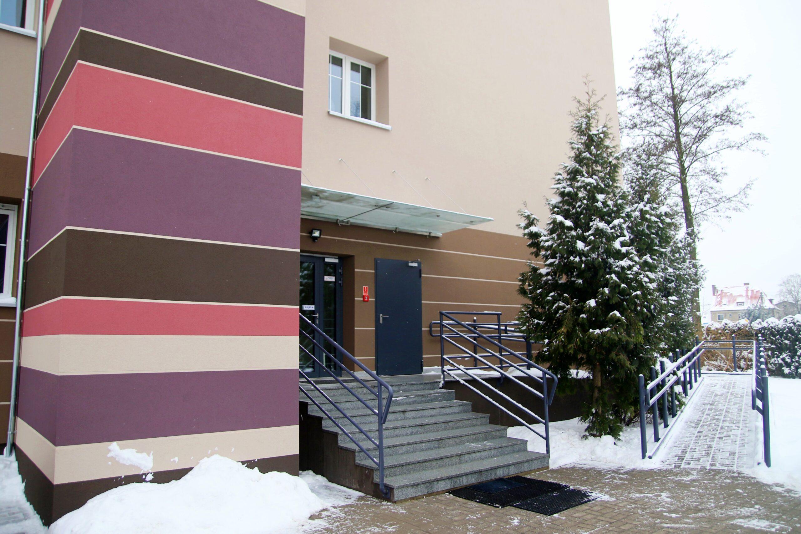 Budynek GOK-u po modernizacji