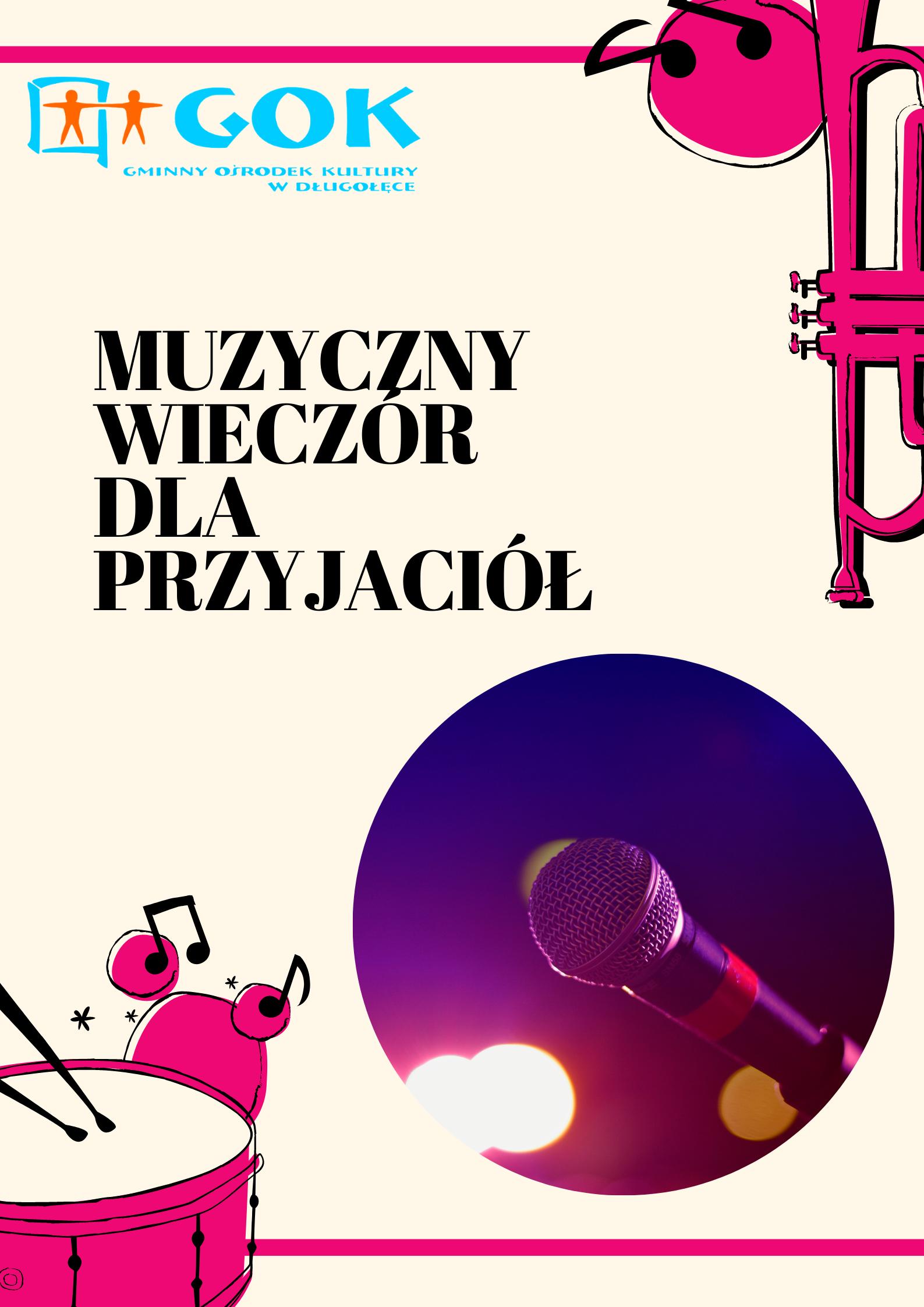 Muzyczny Wieczór dla Przyjaciół z okazji Dnia Matki – org. Gminny Ośrodek Kultury w Długołęce