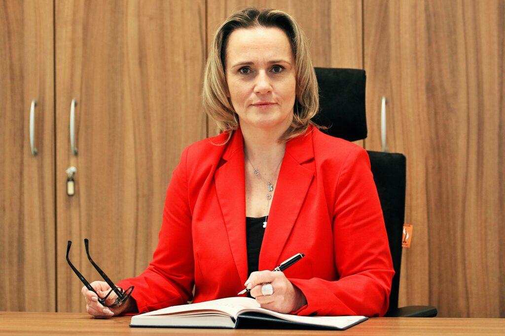Zastępczyni Wójta Gminy Długołęka Joanna Adamek