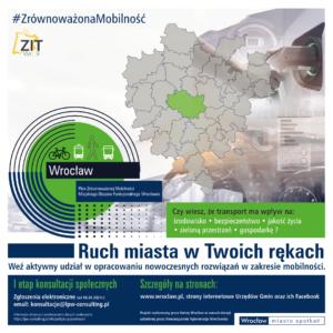 Plan Zrównoważonej Mobilności – weź udział w konsultacjach