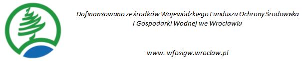 Logotyp Wojewódzkiego Funduszu Ochrony Środowiska i Gospodarki Wodnej we Wrocławiu