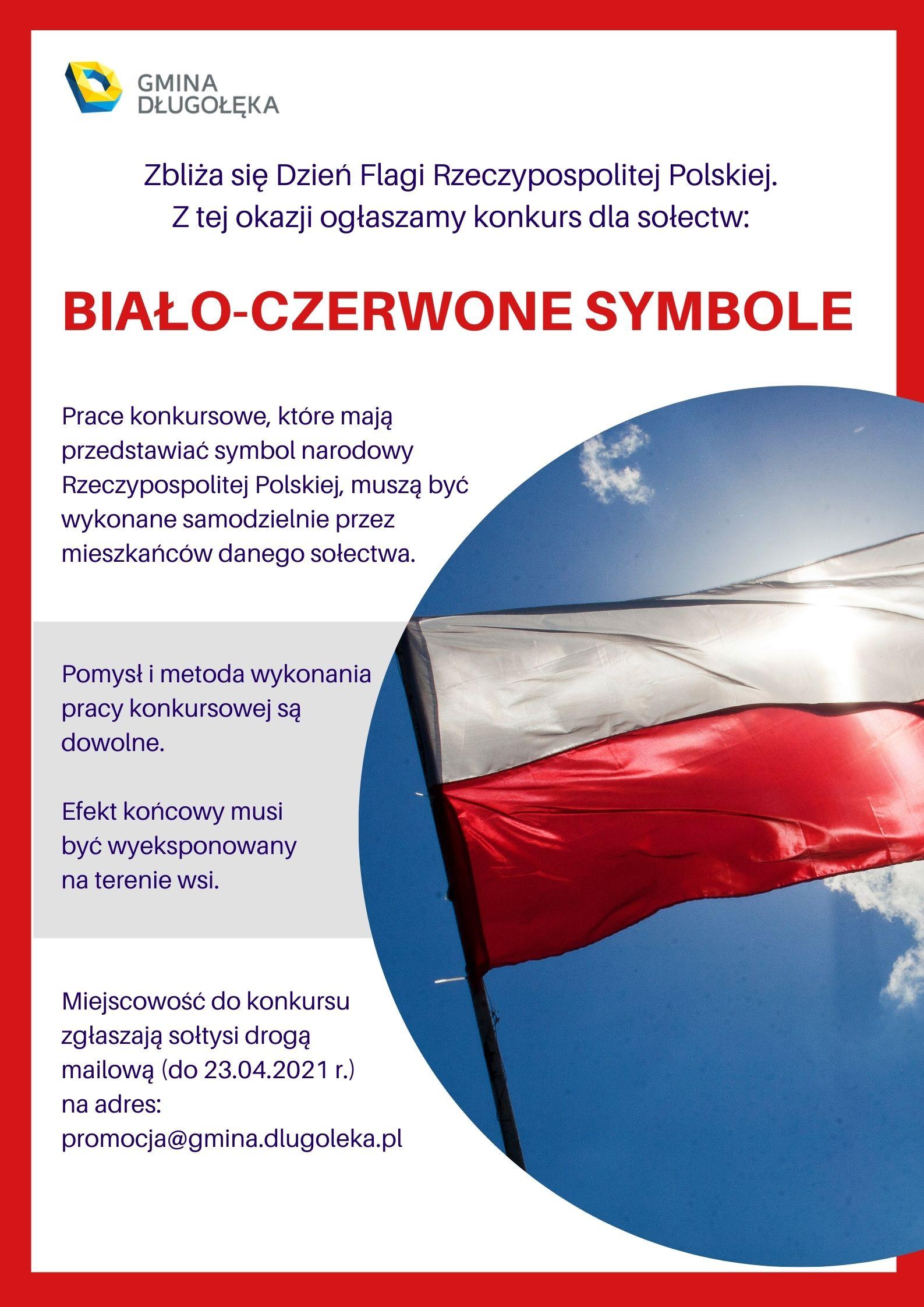 """Konkurs """"Biało-czerwone symbole"""""""